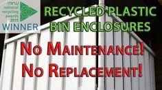 Kedel Recycled Plastic Bin Cupboard / Enclosures