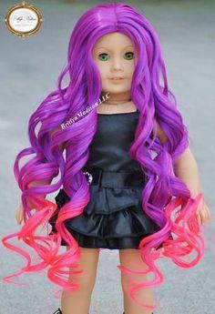 american girl doll wigs - Google Search