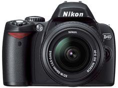 Nikon D40: tips for using your digital camera