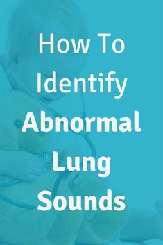 How To Identify Abnormal Lung Sounds In Nursing School. Click through to rock your nursing school clinicals. Nursing Schools Near Me, Online Nursing Schools, Nursing Degree, Nursing Career, Nursing Assistant, Nursing School Scholarships, Nursing Students, Nurse Educator Jobs, Lung Sounds