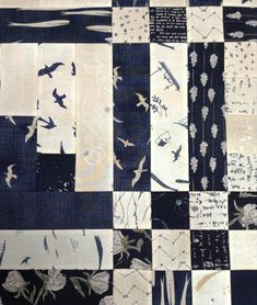 Janet Clare scrap quilt using her fabric lines for Moda