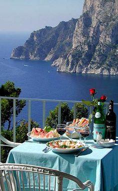 Alfresco - Capri, Campania, Italy