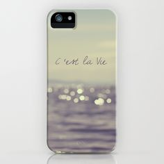 C'est la Vie iPhone Case.This website has tons of cute iPhone cases!