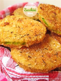 Zucchini Parmesan Bites | SugarApron.com | #zucchini #veggie_recipes #parmesan