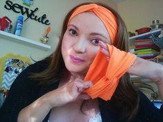 Turbante 2: Trançado de Meia de Seda by Tatiana Karina - YouTube                                                                                                                                                      Mais