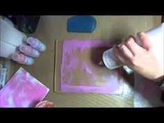 Gelli Plate Tip for keeping paint wet longer. Fantastic!