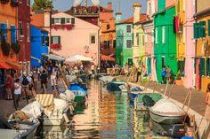 Квартал Венеции. #Италия #Burano #Italy