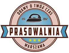 Logo Prasowalnia Warszawa #logo #prasowanie #ironing #magiel