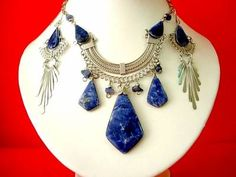 Lapis Lazuli- only found in Chile and Afghanistan!