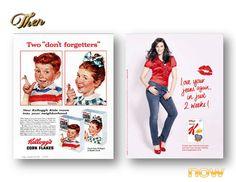 Kellogg's 1955 & 2011