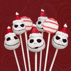 Christmas Cake Pops: Jack Skellington | Spoonful