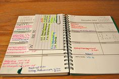 College Prep: Organize, Please... Finals Week!  I have already started my organization!!