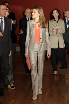 Princess Letizia - Princess Letizia Visits the Prado Museum in Madrid