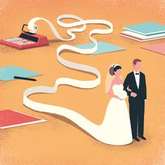 Marriage and taxes -  Editorial Illustrations 2015 - Vol. 2 on Behance