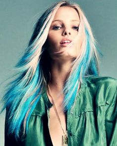 - Mechas Californianas de Colores