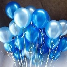 Amazon.com: 10 Inch Blue & Light Blue Party Balloons for Party Decoration 100 Pcs/lot: Toys & Games