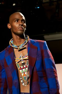 """African Fashion Week Men 