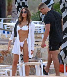 Olivia Culpo shows off fab figure in a white bikini in Mexico with beau Christian McCaffrey Beachwear Fashion, Beachwear For Women, Women Swimsuits, Olivia Culpo, Christian Mccaffrey, Celebrity Bikini, Victoria Secret Fashion, Sexy Older Women, Plus Size Swimwear