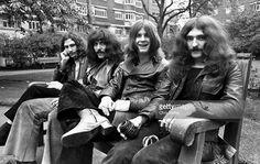 Bill Ward, Tony Iommi, Ozzy Osbourne, Geezer Butler