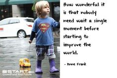 All it takes is one great idea to change the world... www.START.ac #crowdfunding