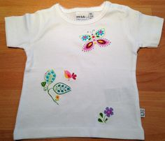 cute shirt with butterfly