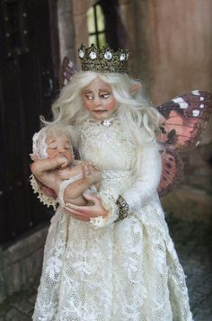 1/12th miniature fairy doll
