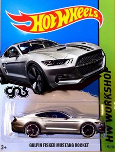 Hot Wheels Mustang Galpin Fisker Rocket. This is Nice!!