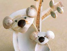 coquillage-dessin-pere-et-fils-famille-ours-decoration-ideale