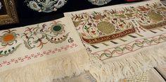 Alime Gusenova's embroideries. Evciyar...fragment.