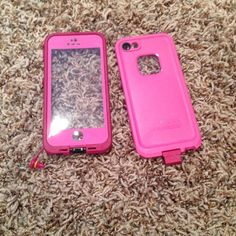 iPhone 5s case Pink iPhone 5s life proof case. Great condition. Water proof. Used once Accessories Phone Cases