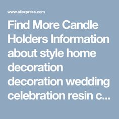 Find More Candle Holders Information about  style home decoration decoration wedding celebration resin classical imitation elephant candle Taiwan living room,High Quality elephant candle,China home decor Suppliers, Cheap candle elephant from Wooden box / crafts Store on Aliexpress.com