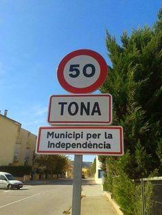 Tona, municipi per la independència / Tona, municipality for independence (26/10/13) foto de Josep Garriga