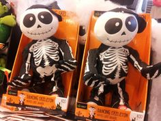 Dancing skeletons for #Halloween 2013 @ Woolworths, #Ivanhoe #NoHe