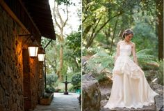 Love this Leanne Marshall dress! Featured on Once Wed. http://www.oncewed.com/65522/wedding-blog/real-weddings/rustic-wedding-in-napa/ Photo by Scott Andrew Photography