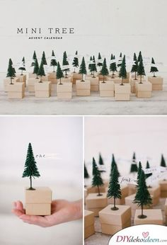 Christmas Diy Crafts – Cute & Co. Christmas DIY Crafts – Cute & Co diy holiday crafts - Diy Cool Advent Calendars, Homemade Advent Calendars, Diy Advent Calendar, Calendar Ideas, Christmas Advent Calendars, Alternative Advent Calendar, Diy Christmas Tree, Christmas Projects, Holiday Crafts