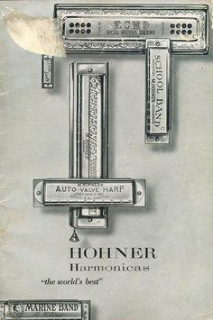 1953 Hohner USA Harmonica Catalog
