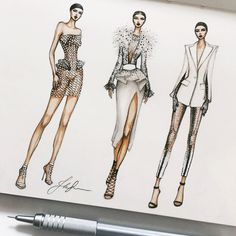 Fashion collage sketchbook design ideas - Fashion collage sketchbook design ideas You are in the right place about fashion poster - Fashion Collage, Fashion Art, Trendy Fashion, Fashion Models, Fashion Outfits, Womens Fashion, Fashion Trends, Stylish Outfits, Fashion Design Sketchbook