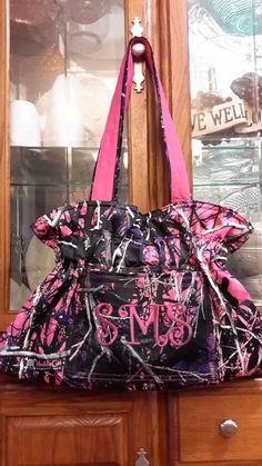 Muddy Girl Camo handbag shoulderbag made to by MyBagYourWay, $80.00