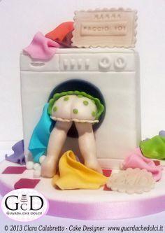 Mom, I do!! - by Guardachedolci @ CakesDecor.com - cake decorating website