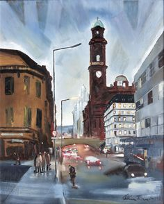 Oxford Road, Manchester - William  Turner