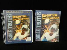 Bob Jones Bible Truths 6 Workbook & T. ED. Redemption - Homeschool or School #TextbookBundleKit
