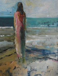 "Daily Paintworks - ""Wishful Thinking"" - Original Fine Art for Sale - © Deborah Harold"