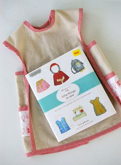 Oliver + S Little Things to Sew Bias Trimmed Apron