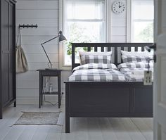 Love the idea of twin mattresses in one frame.  We both get our choice of bedding!
