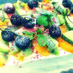 ちょっと夏仕様に涼しげに! - 61件のもぐもぐ - バースデーケーキ♪ by Yutaka Sakaguchi