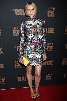 Diane Kruger in Mary Katrantzou