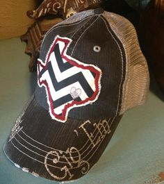 Texas A&M Aggies State Baseball Bling Ladies Womens by chasingelly, $36.00