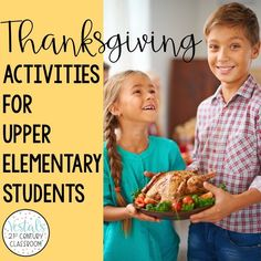 Here are some of the best language arts, math, STEM, and SEL Thanksgiving activities for upper elementary students to enjoy in November!  #vestals21stcenturyclassroom #thanksgiving #thanksgivingactivities #thanksgivingbooks #thanksgivingupperelementary #thanksgivingactivitiesforupperelementary #thanksgivingela #thanksgivingmath