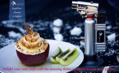 Delight your taste buds with the amazing dishes prepared in your own kitchen or restaurant with the help of your professional food culinary torch.  Baked apple alaska.  #bakedapple #apple #bake #feedfeed #foodstyling #instalike #photooftheday #happy #eeeeeats #brulee #dessert #cooking #cleaneating #eatingfortheinsta #foodporn #yummy #cook #instafood #delicious #followme #beautiful #instagood #food #unitedstates #losangeles #california #texas #florida #colorado #newyork