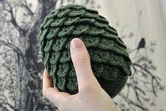 Game of Thrones Crochet Egg (Crocodile Stitch)